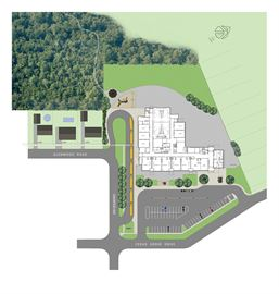 Pinewood site plan