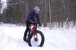Heather Stanley on her bike