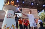 Pan Am Torch Relay in York Region