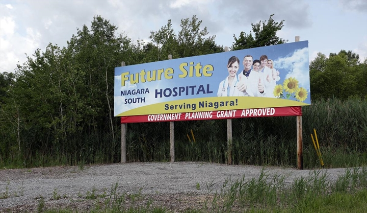 2026 opening eyed for new south Niagara hospital