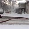Parry Sound Road Fire