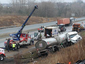 401 diesel spill