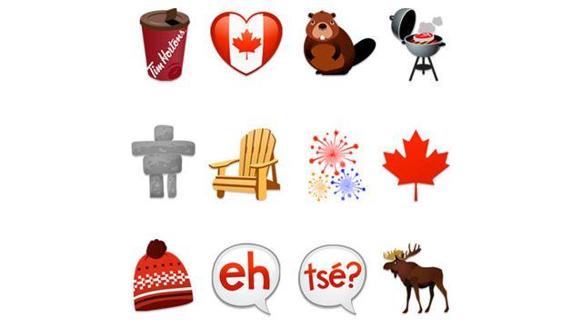 how to add canadian flag emoji
