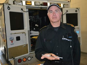 Simcoe County paramedics ready to battle opioid overdoses