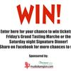 Win tickets to What's Cooking Bracebridge!