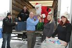 Mike the Mattress Guy and Growing Minds give to Barrie Food Bank
