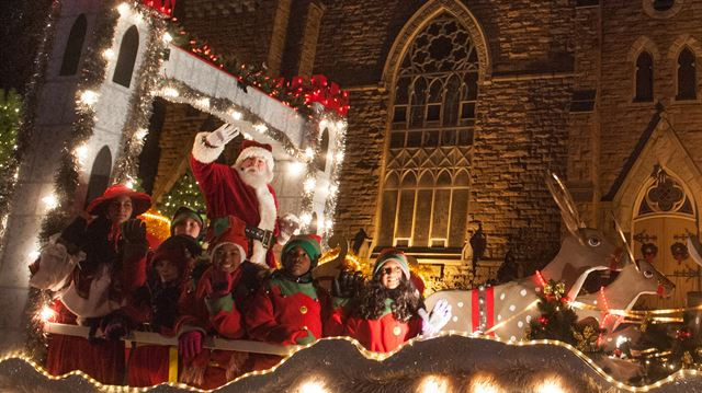 Santa Claus Parade street closures for Sat., Nov. 18