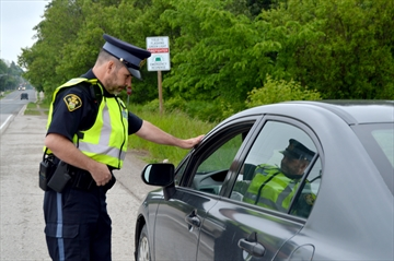 Wellington OPP officers have arrested a Mississauga man for impaired driving, after he was found sleep behind the wheel in Guelph.