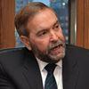 Federal NDP Leader Thomas Mulcair