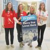 Students at St. Theresa's High School in Midland are ready for their Terry Fox Run