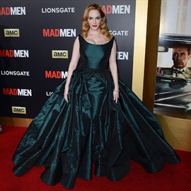 Christina Hendricks proud of Mad Men-Image1