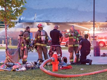 Brampton's Victoria Park Arena remains closed after fire but fields ...