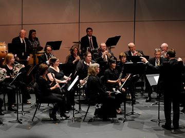 Love is in the Aire with Oakville Wind Orchestra show Friday night
