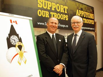 National Capital Open to support troops