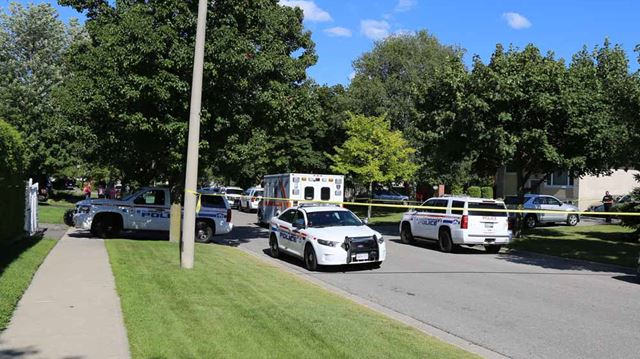 Stabbing death in Oshawa