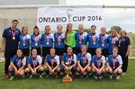 Darlington Fusion Ontario Cup champs