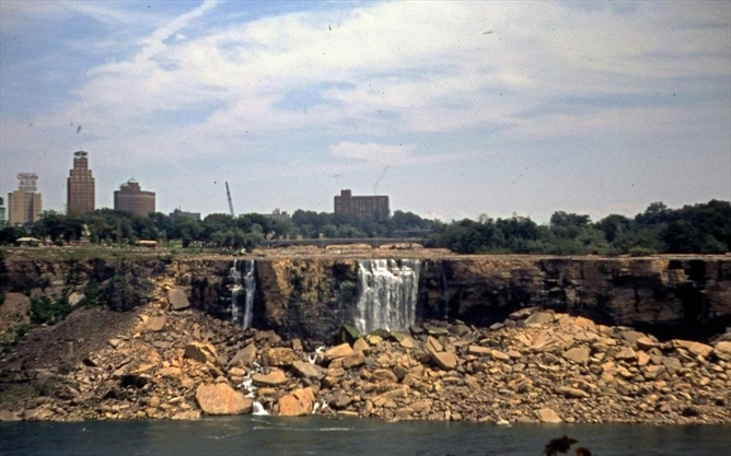Yesterday and Today: The summer they turned off Niagara Falls