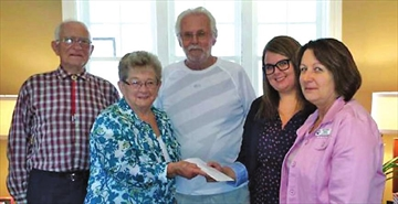 Dutch Catholic Association donates to Hospice Quinte– Image 1
