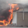 Spencer Street fire in Cobourg