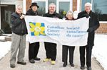 North Simcoe municipalities raise flags for Cancer Awareness Month