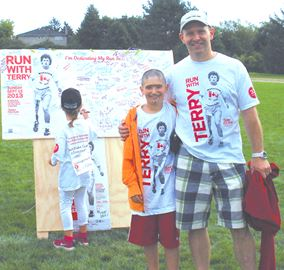 2013 Thornhill Terry Fox boosters