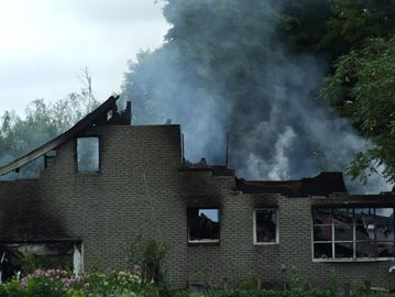 Oro-Medonte family escapes fire