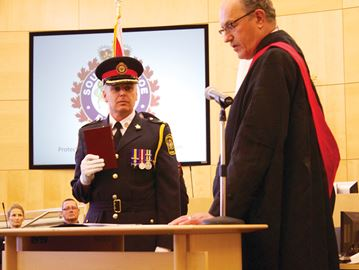 Police officers need to stick to core duties, deputy chief tells Innisfil council
