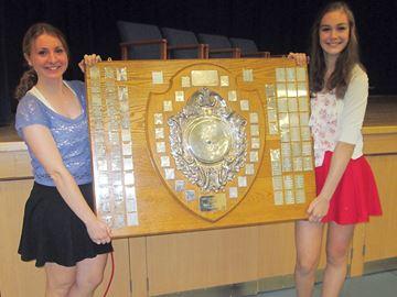 Midland Secondary School presents academic awards