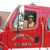 Tiny Township girl named fire chief for a day