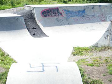 Swastika grafitti