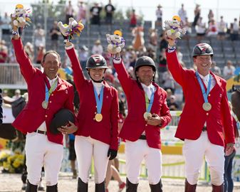 Canadian Show Jumping gold