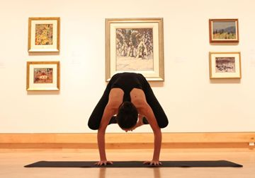 Art and a Healthy Heart: Yoga at the Varley