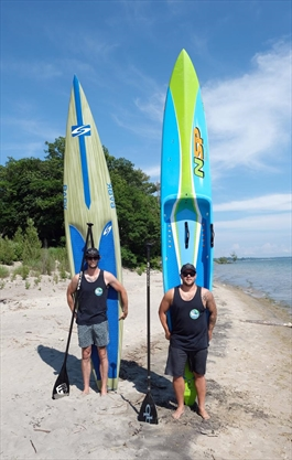 Port Colborne duo to race paddleboard across Lake Ontario