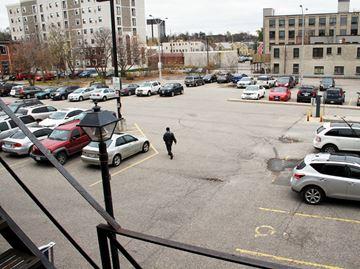 Water Street parking lot #2