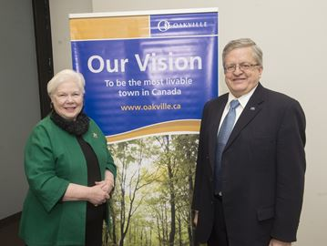 Oakville's sustainability draws Ontario Lieutenant Governor's eye and visit