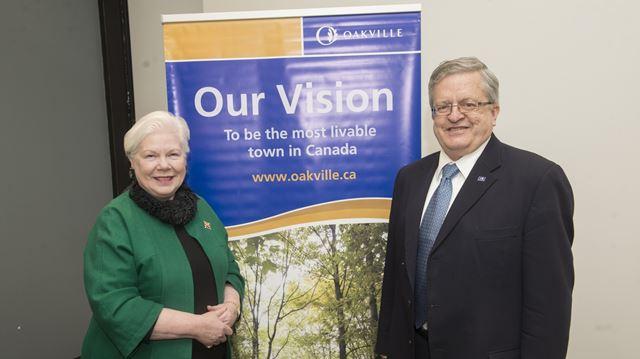 Oakville's sustainability draws Ontario Lieutenant Governor's eye and visit