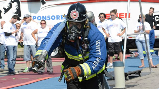 Oakville firefighters compete at Firefest