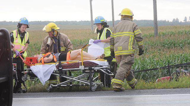 Accident at Burnham and Danforth