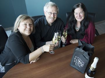 Burlington Wine Club meets monthly at AGB