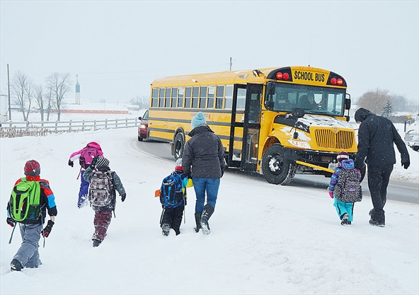 Peel District School Board School Closures Today: 5 Things To Know About No School Bus Days In Caledon