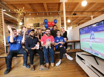 Five ways to watch Toronto Blue Jays' playoffs games at work