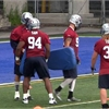 Alouettes coach says Michael Sam fighting for spot after return