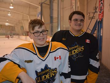 Simcoe County Sliders players to compete in provincial games