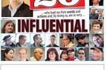 Most influential list 2016