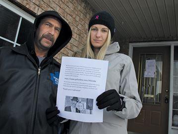 Alleged arson 'devastating' for local man