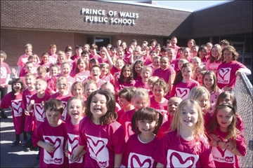 School board holds Pink Shirt Day– Image 1