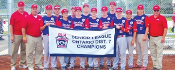Kemptville Little League senior team play strong in provincial finals– Image 1