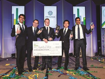 CFA challenge winners