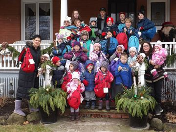 Knapsacks filled with gifts help Big Brothers Big Sisters of Halton families