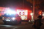One rescued after Burlington kitchen fire